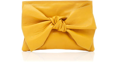 ULLA JOHNSON- Tali Clutch Mustard