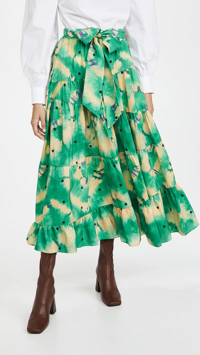 Ulla Johnson - Umbra Skirt in Jade