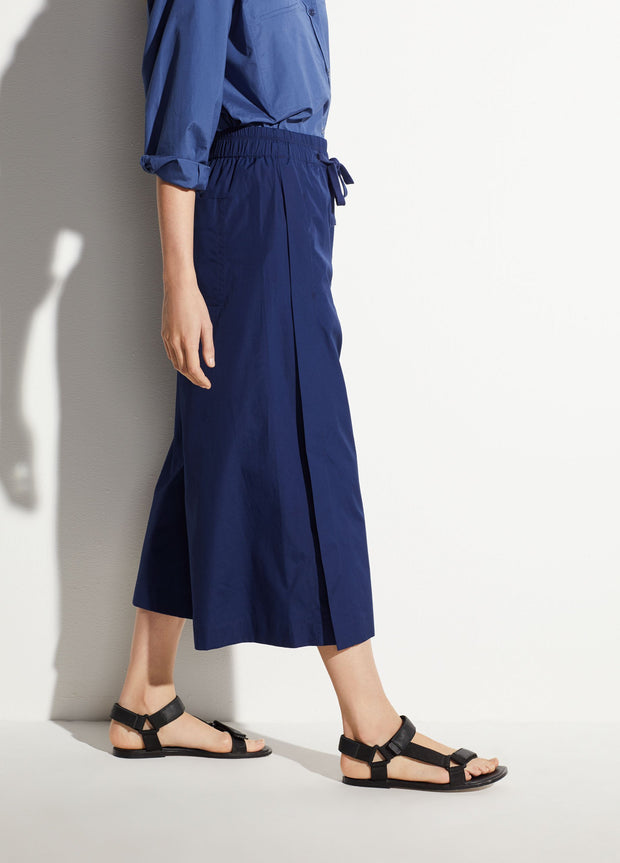 VINCE - Cotton Culotte Pants in Hydra