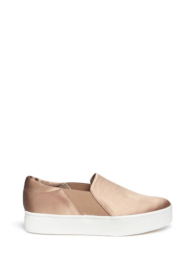 VINCE - Warren platform shoe in Fawn