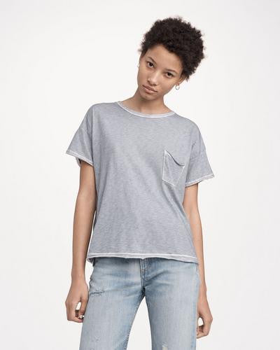 Rag & Bone - Vintage Crew with Pocket Tradewinds