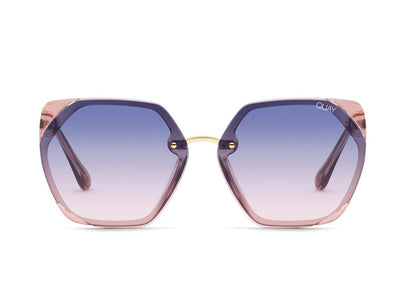 QUAY - VIP Pink/Navy to Pink Lens