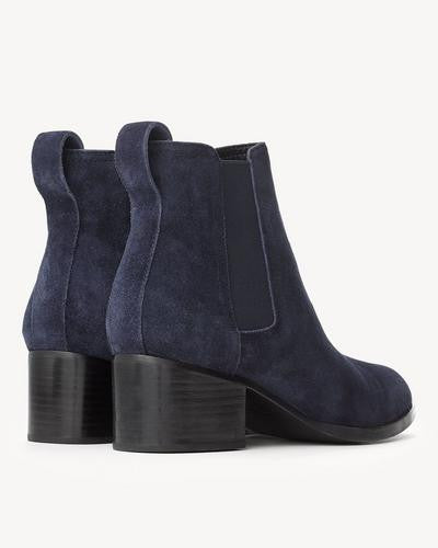 Rag & Bone - Walker Boot Navy Suede