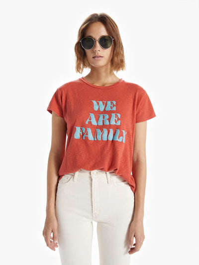 Mother - The Sinful Crewneck Tee in We Are Family