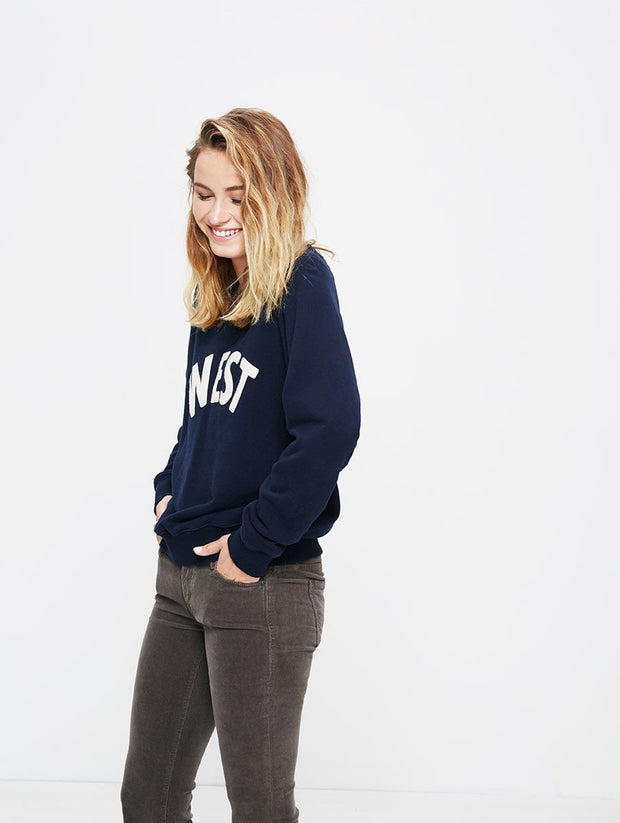 "Mother Denim The Square ""West"" Sweatshirt at Blond Genius - 2"