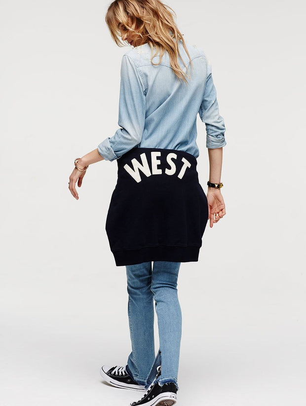 "Mother Denim The Square ""West"" Sweatshirt at Blond Genius - 3"