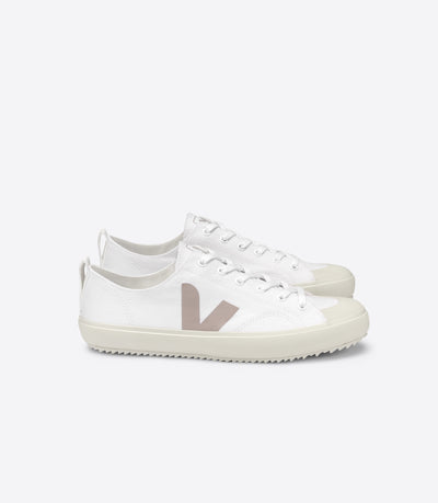 Veja - Nova Canvas Sneakers in White Babe