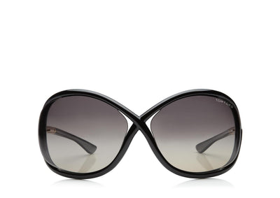 Tom Ford - Whitney Shiny Black/Smoke Polarized