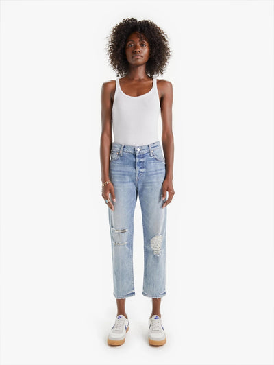 Mother Denim - The Scrapper Ankle Jeans in Wicked Wild Calling