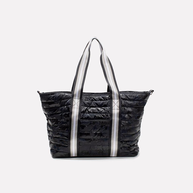 Think Royln - Wingman Shiny Camo Black Tote Bag