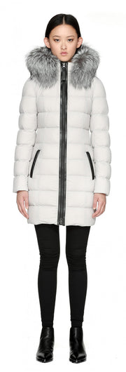 Mackage Mackage- Calla Coat Cloud at Blond Genius - 1