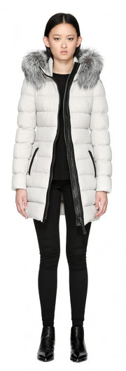 Mackage Mackage- Calla Coat Cloud at Blond Genius - 2