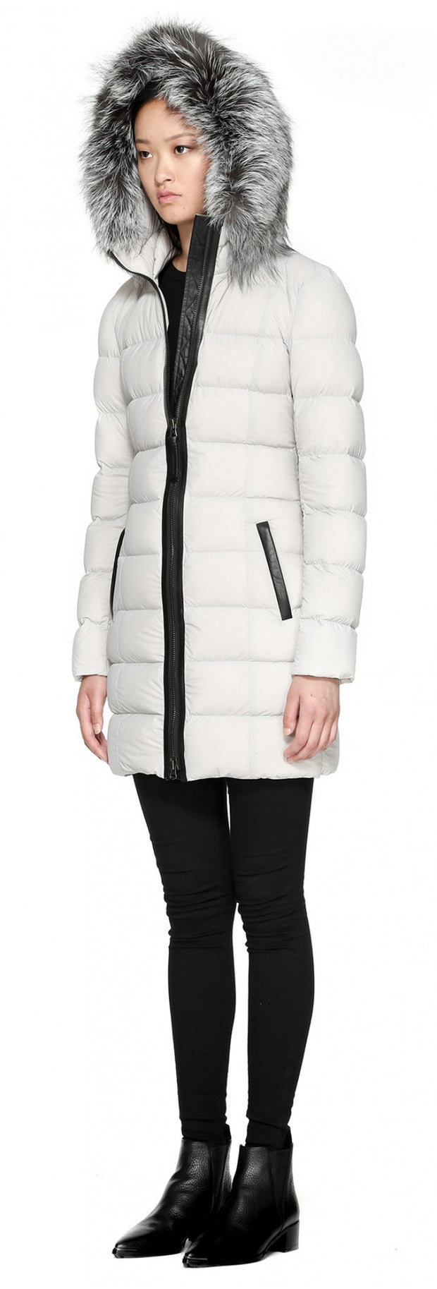 Mackage Mackage- Calla Coat Cloud at Blond Genius - 3