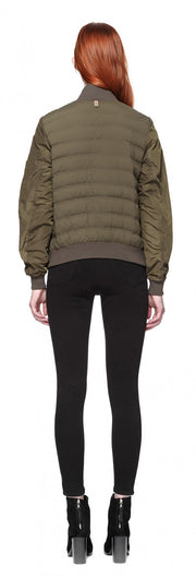 Mackage - Margo Light Down Jacket in Army Green