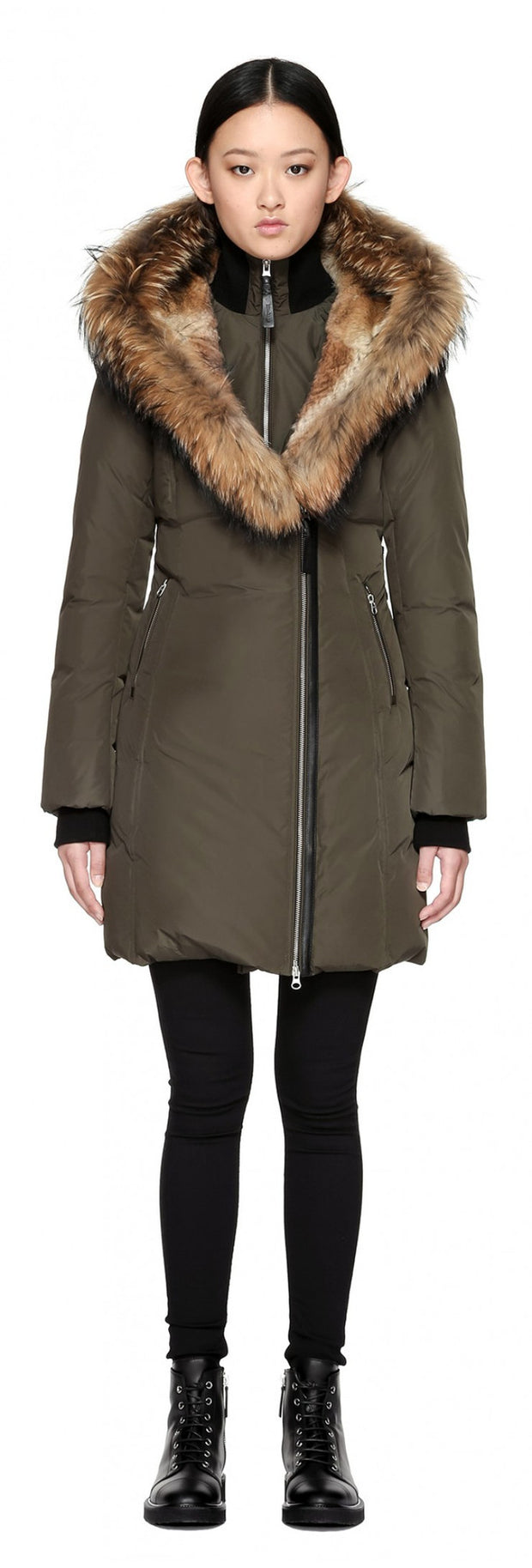 Mackage Mackage- Trish Coat Army at Blond Genius - 5