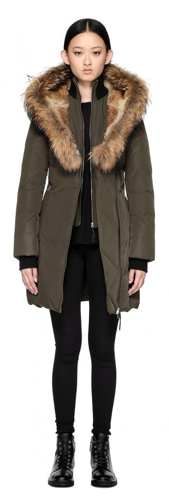 Mackage Mackage- Trish Coat Army at Blond Genius - 1