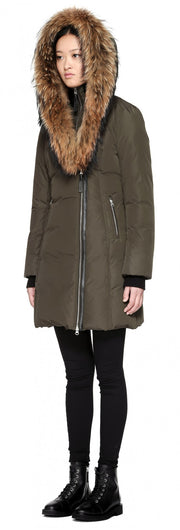 Mackage Mackage- Trish Coat Army at Blond Genius - 4