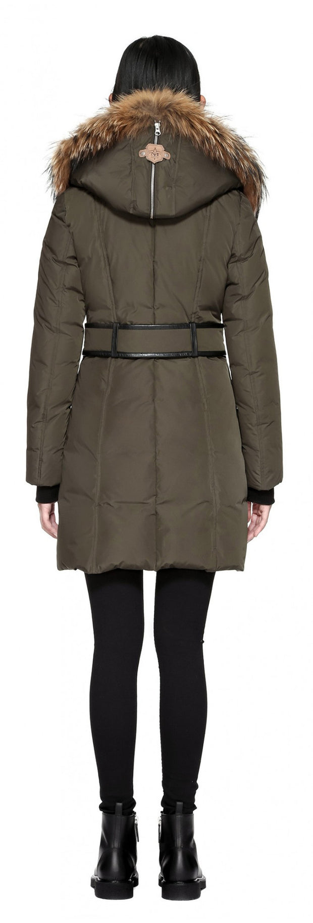 Mackage Mackage- Trish Coat Army at Blond Genius - 3