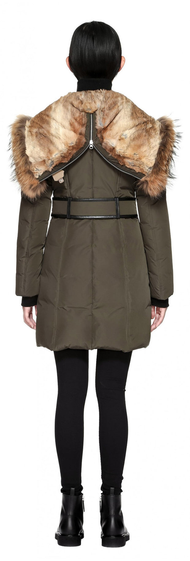 Mackage Mackage- Trish Coat Army at Blond Genius - 2