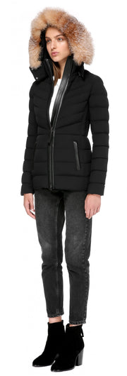 Mackage -  PATTI-X LIGHTWEIGHT DOWN JACKET WITH HOOD IN BLACK