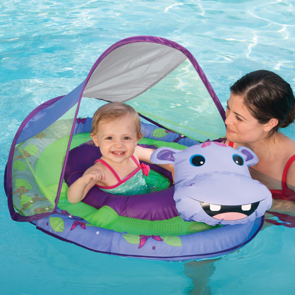 Swimways Baby Spring Float Animal Friends with Canopy  sc 1 st  Pool Toys Express & Swimways Baby Spring Float Animal Friends with Canopy | PoolToyExpress