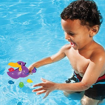 Swimways Pick Me Up Pelican Fish Catching Water Game