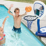 Swimways Poolside Basketball Swimming Pool Game