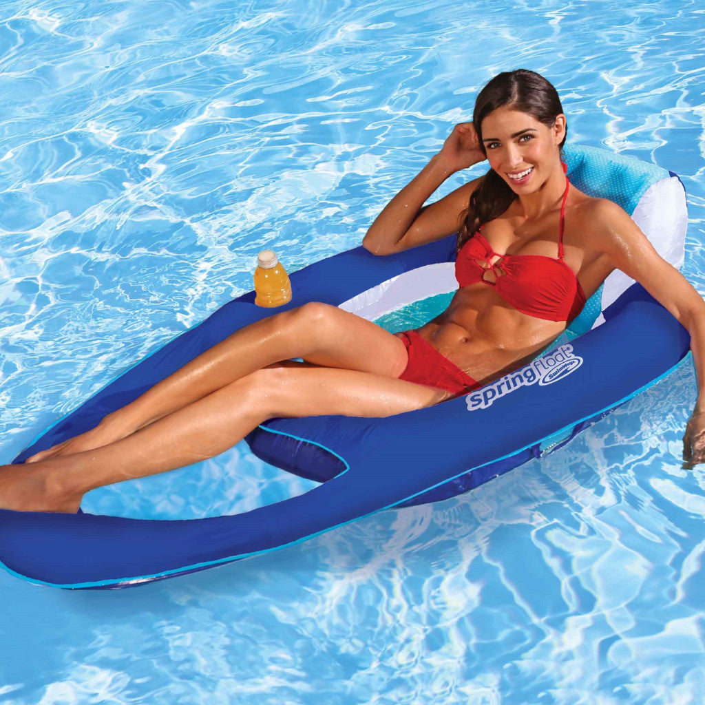 Swimways Spring Float Recliner Raft