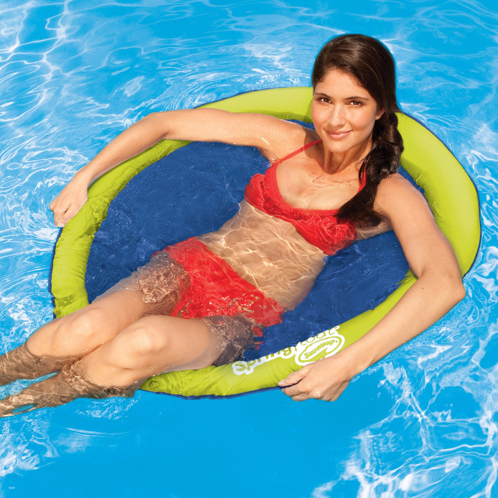 Swimways Spring Float Papasan Water Seat