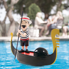 Swimways Singing Gondolier Italian Moving Boat