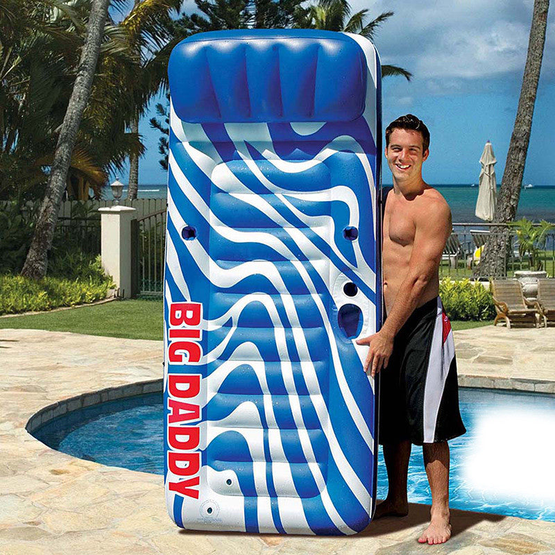 Pool Master Big Daddy Over-Sized Swimming Pool Mattress Raft