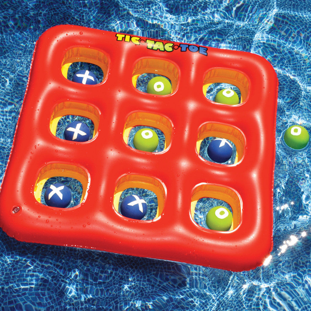 Swimline Tic Tac Toe Game