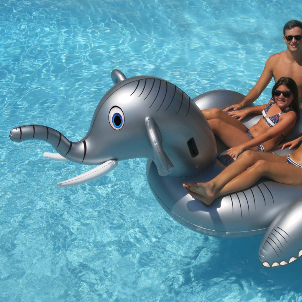 Swimline Giant Elephant Ride-On Pool Float
