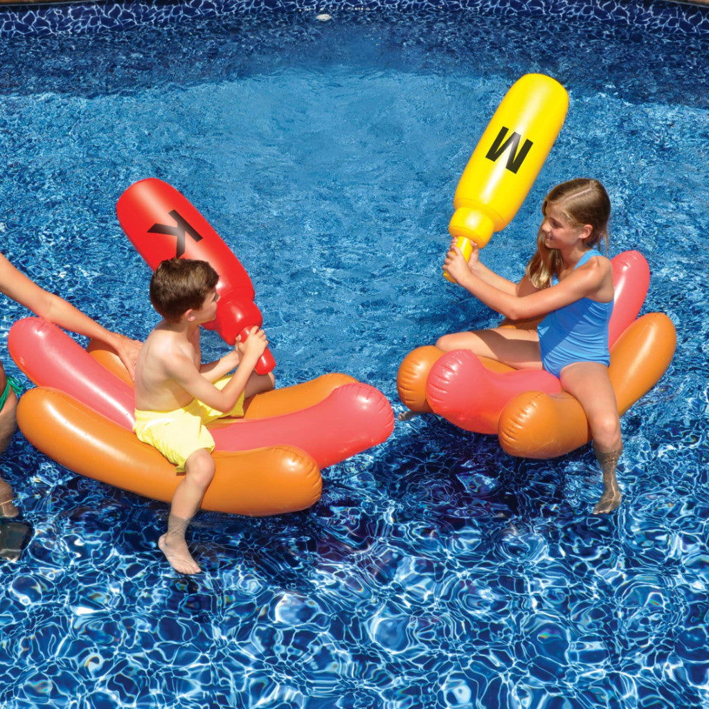 Swimline Hot Dog Battle Rafts