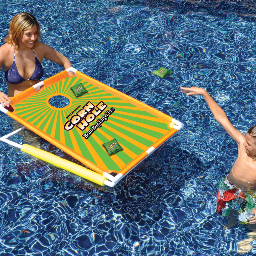 Swimline Cornhole Bean Bag Target Toss Game