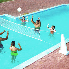 Swimline Pool Jam Basketball and Volleyball Inground Combo