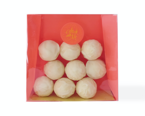 White Chocolate Truffle Pouch