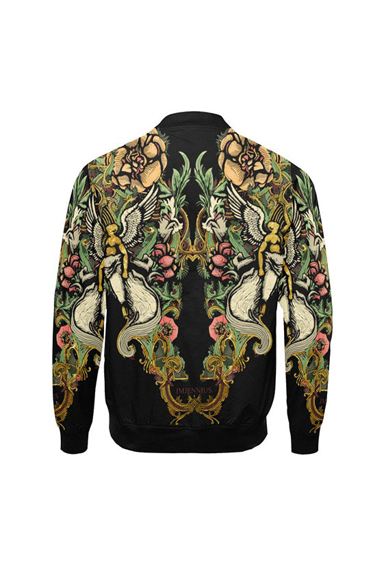 Guardian Angel Coloured Bomber Jacket