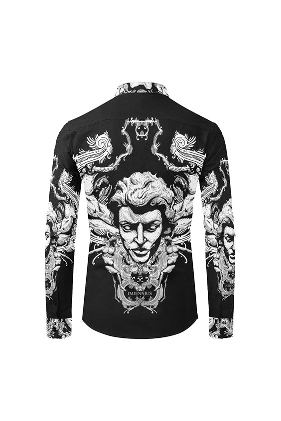 Imjennius Face Black & White Shirt