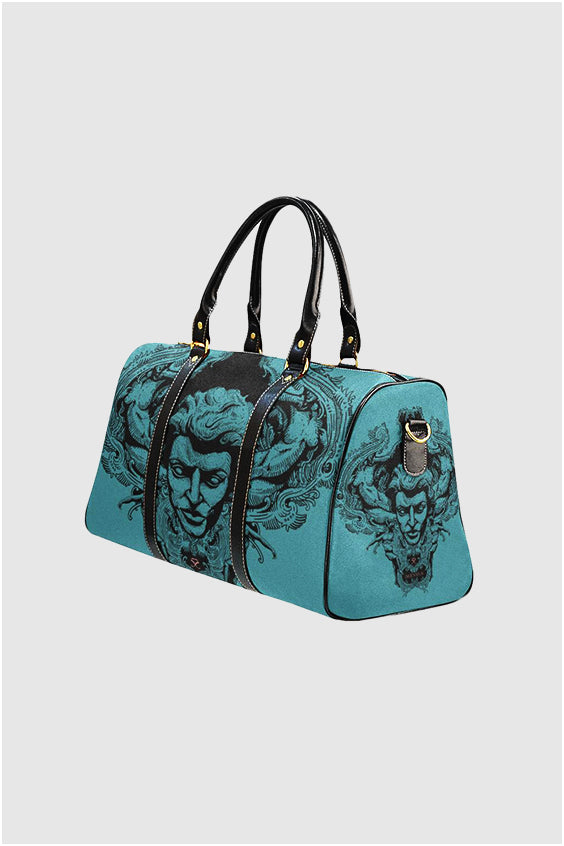 Imjennius Face Blue Travel Bag