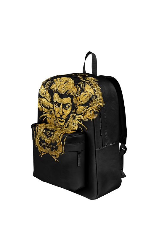 Gold Face backpack