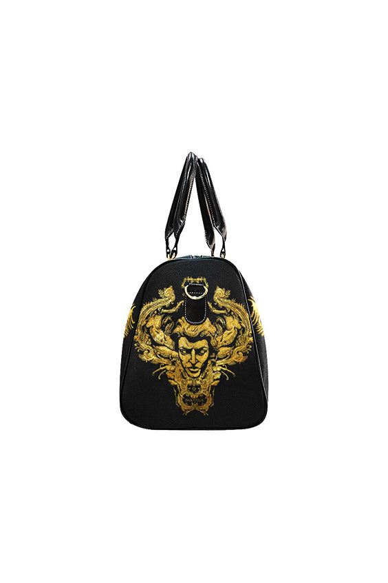 Imjennius Face Gold Travel Bag