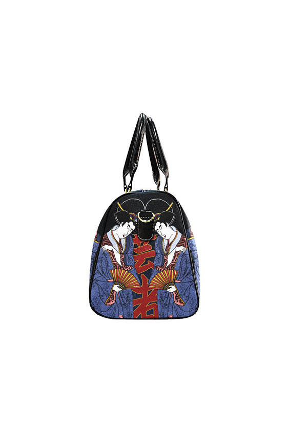 Geisha Kanji Coloured Travel Bag