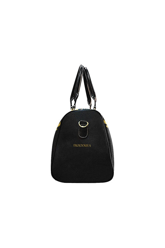 Angel Guardian Black & Gold Travel Bag