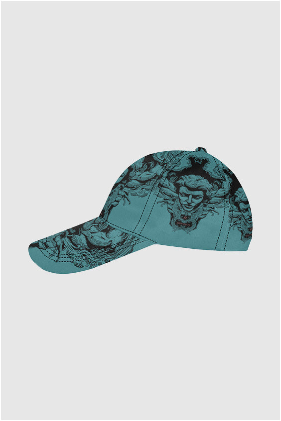 Imjennius Face Blue Dad Cap