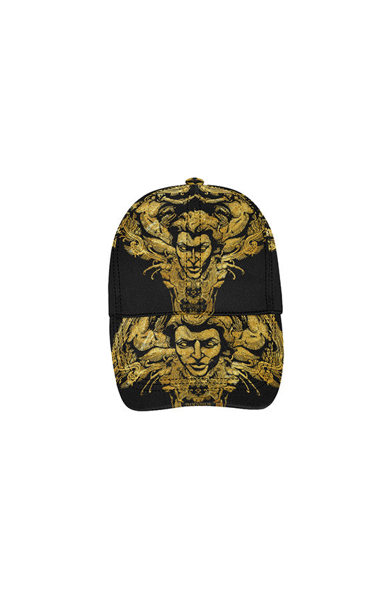 Imjennius Gold on Black Dad Cap