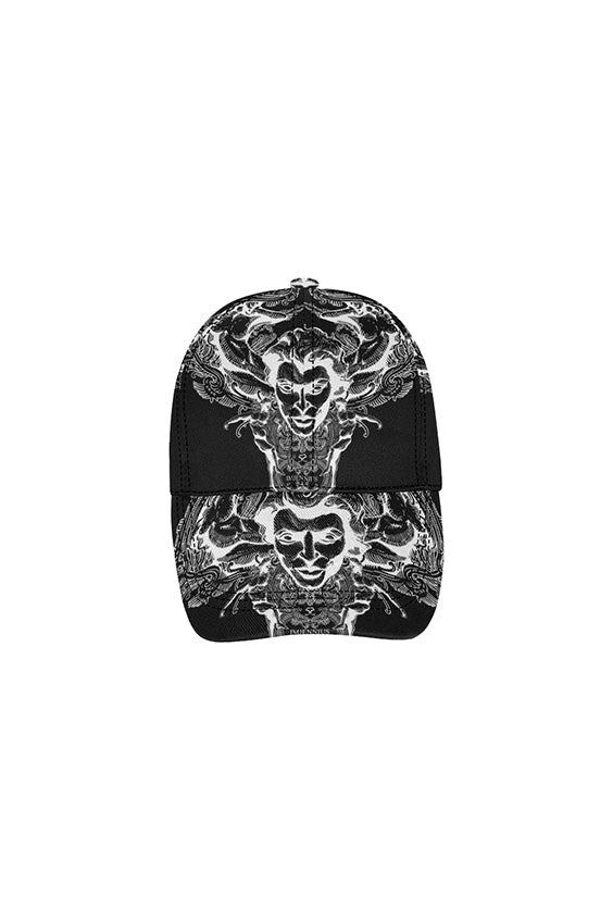 Imjennius Face Polarized on Black Dad Cap