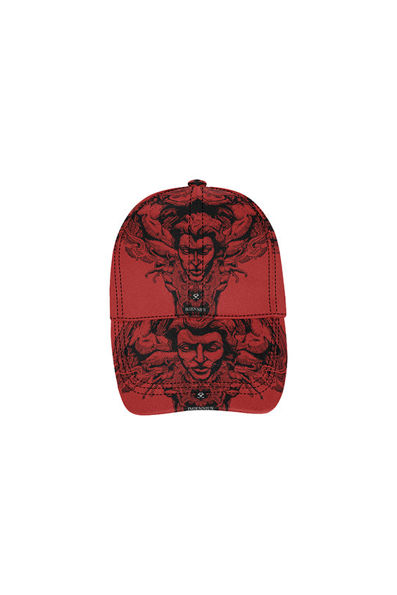 Imjennius Face Red Dad Cap