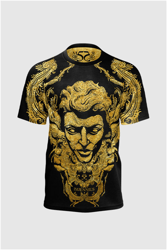 Gold imjennius face nº2 T-shirt