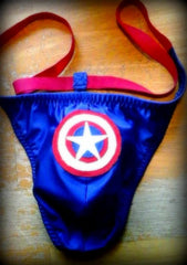 Captain America Thong